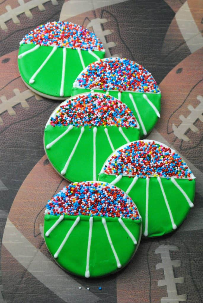 Fun Fall Football Cookies For Your Fan