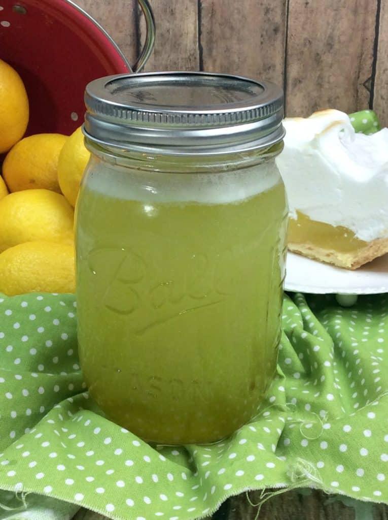 Tartfully Delicious Lemon Pie Moonshine Recipe