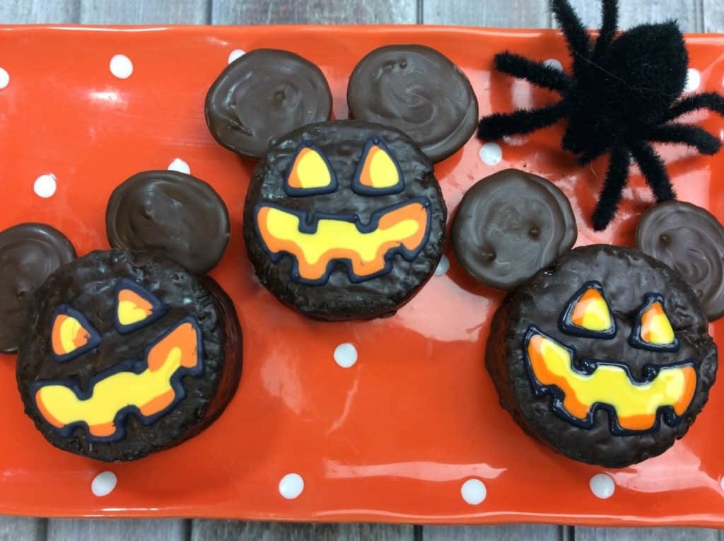 Mickey Mouse Ding Dongs Jack-O-Lantern Treat