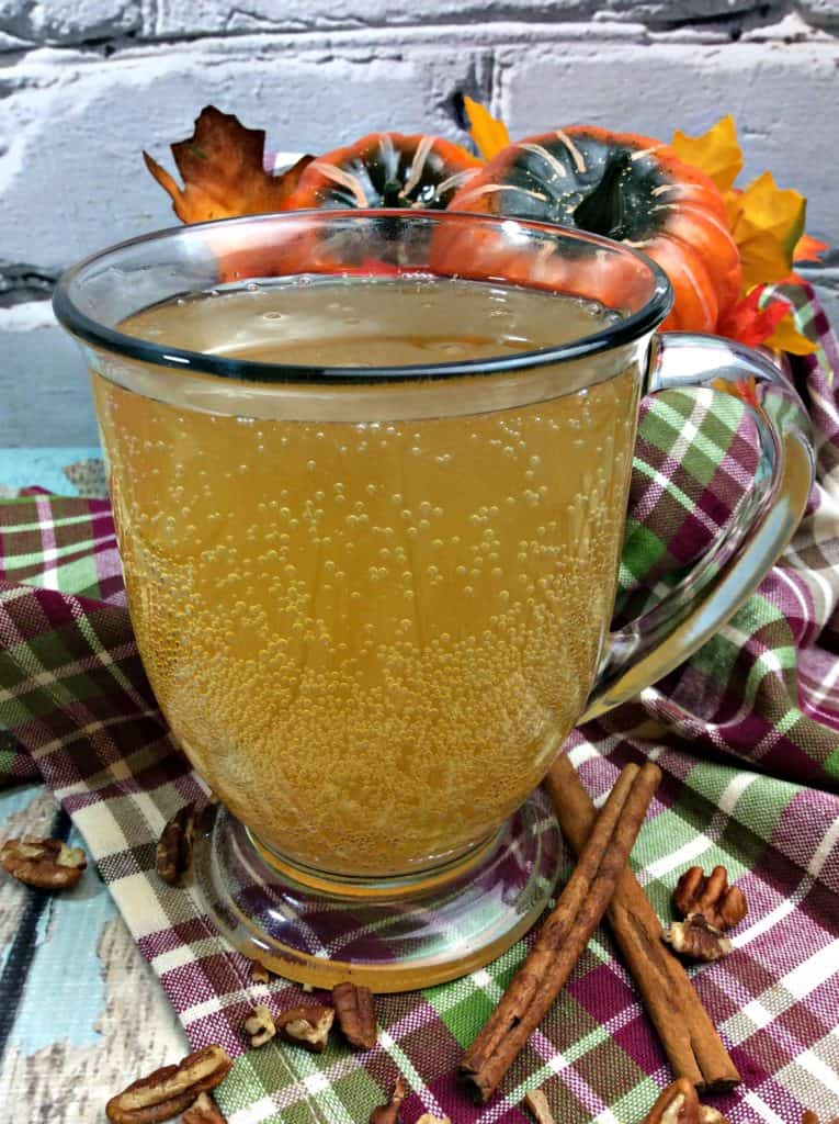 Autumn Sparkling Cider Cocktail
