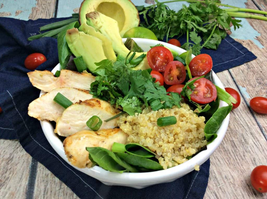 Try Our Chipotle Chicken Buddha Bowl – 6 Weight Watcher Smart Points