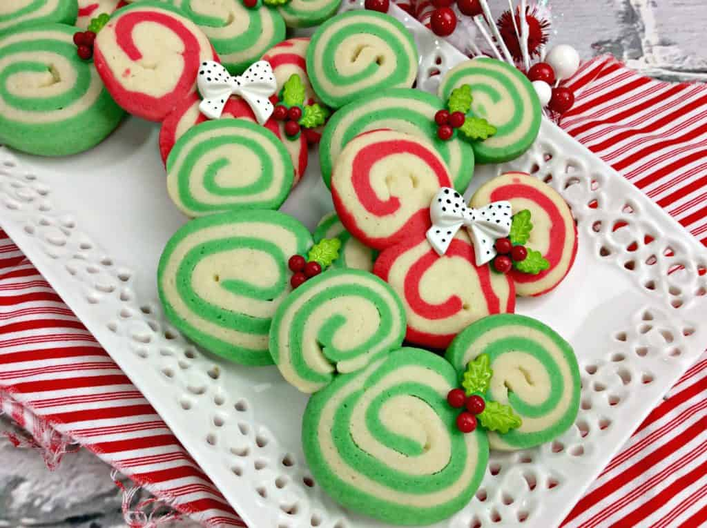 Mickey Mouse Swirl Cookies