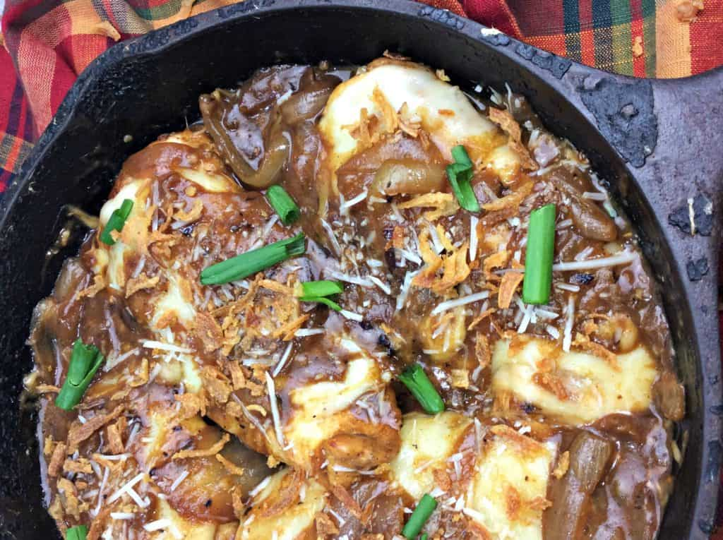 Flavorful French Onion Chicken Skillet Meal