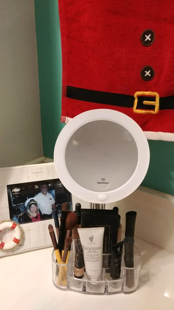 ToiletTree Makeup Mirror and Cosmetic Organizer