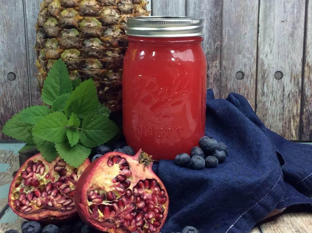 Pomegranate Blueberry Moonshine