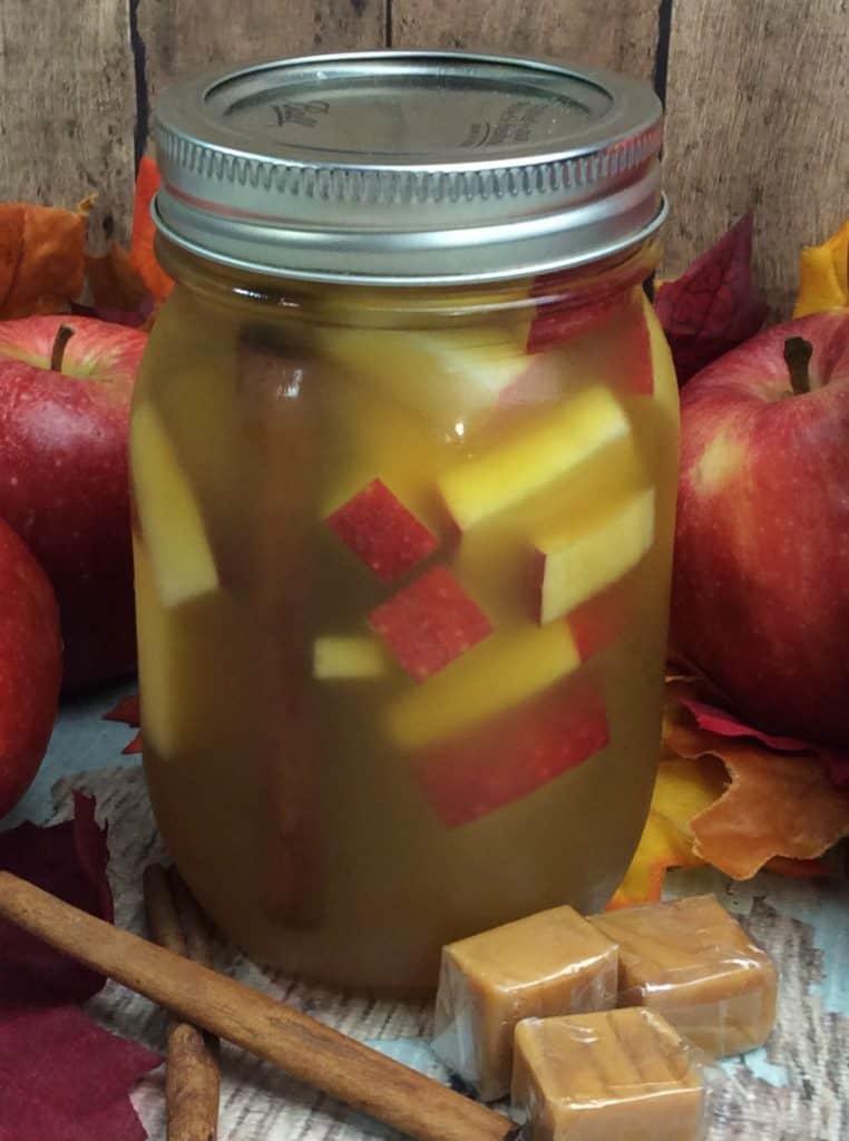 Spiced Vanilla Apple Caramel Moonshine