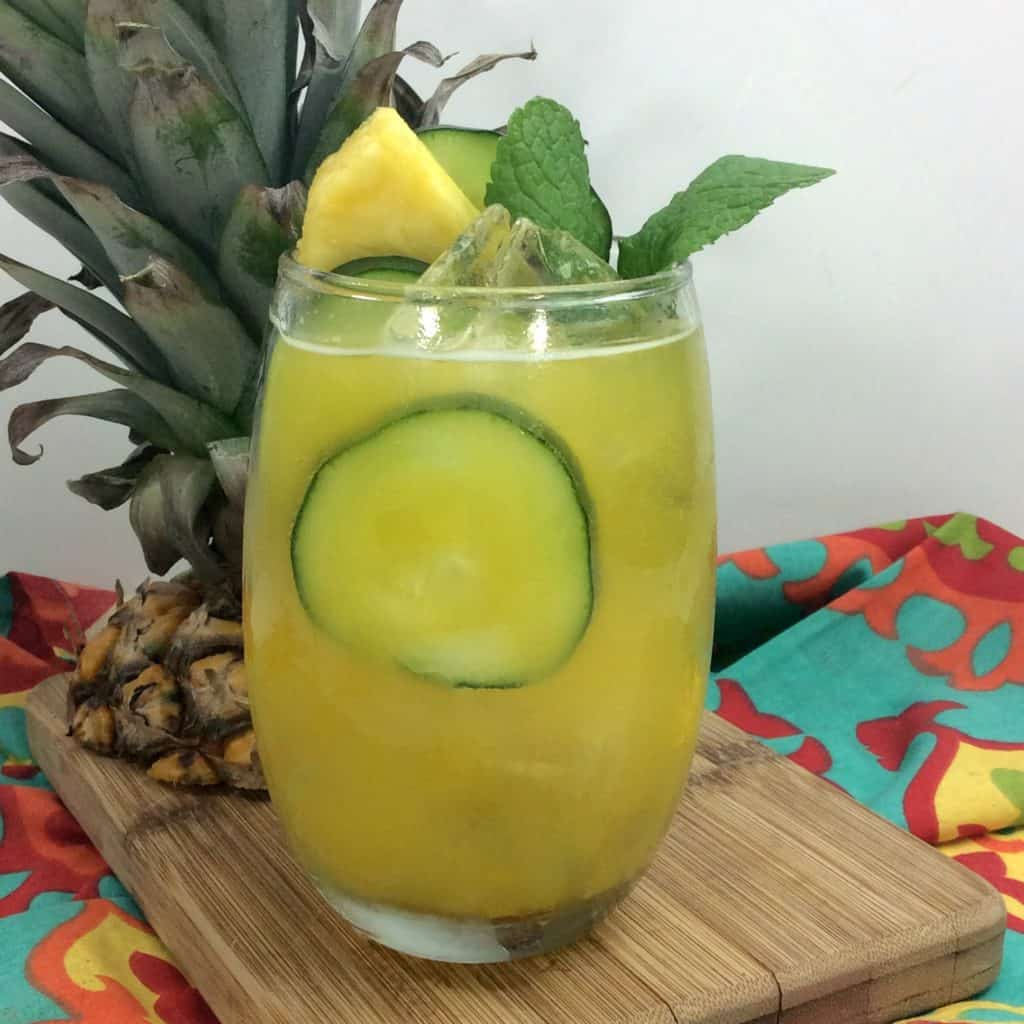 Black Panther Pineapple Cocktail