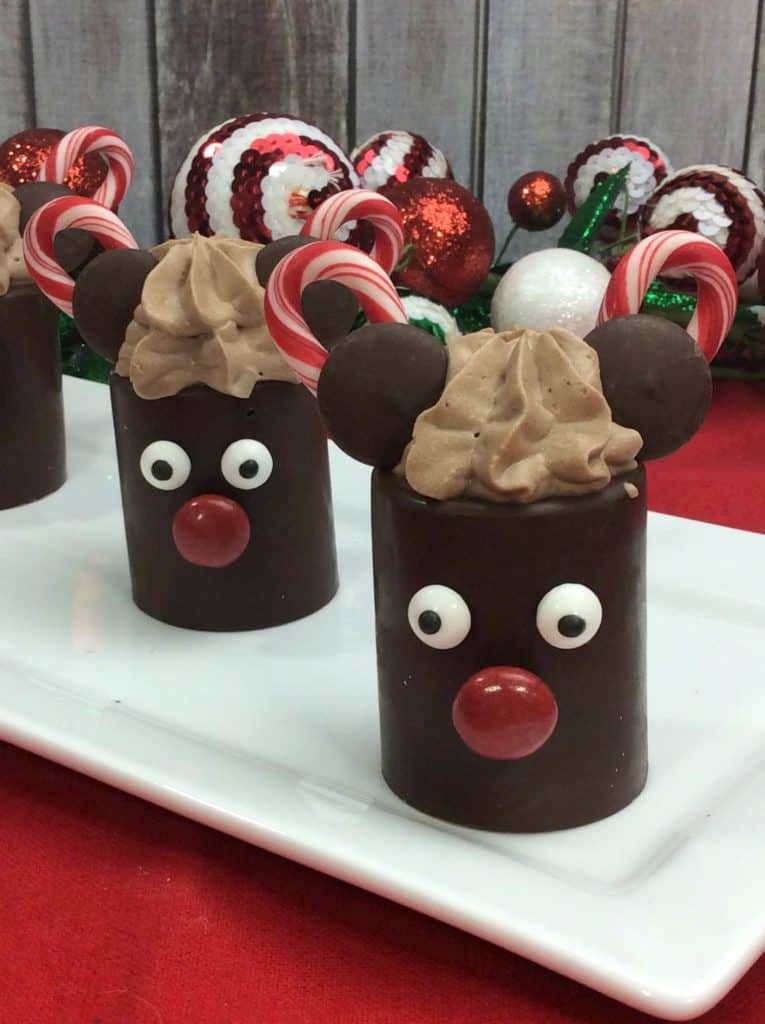 Mickey Mouse Chocolate Moose Dessert Cups