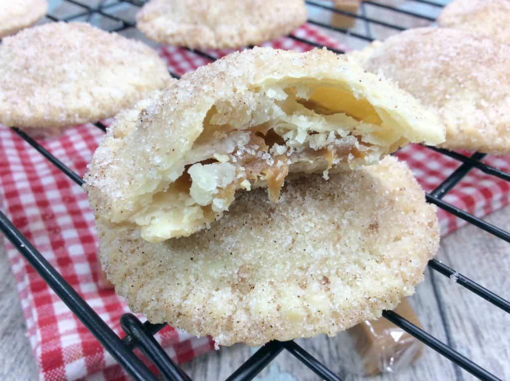 Simple Caramel Churro Cookies