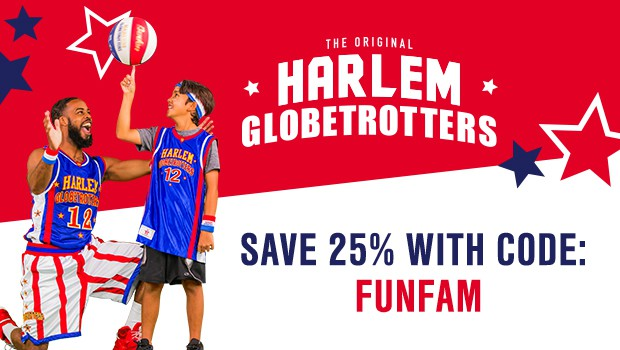 Save 25% on Harlem Globetrotters Tickets
