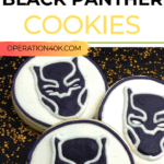 black panther cookies cover image