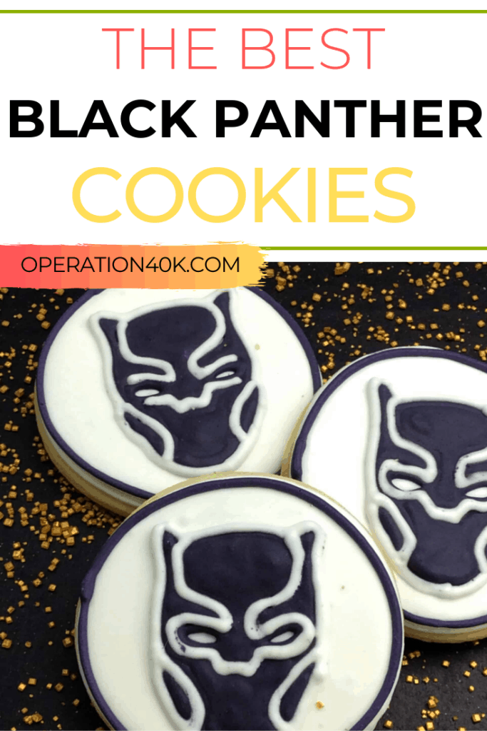 Black Panther Cookies Recipe They Will Rave Over