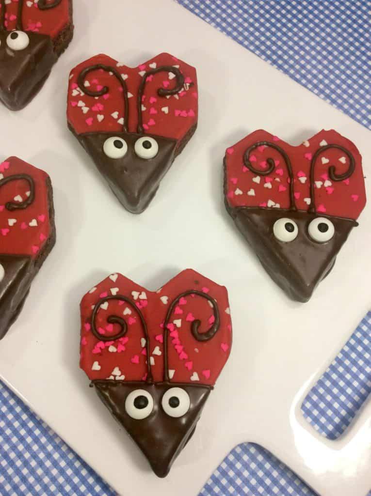 Heart Shaped Love Bug Lady Bugs