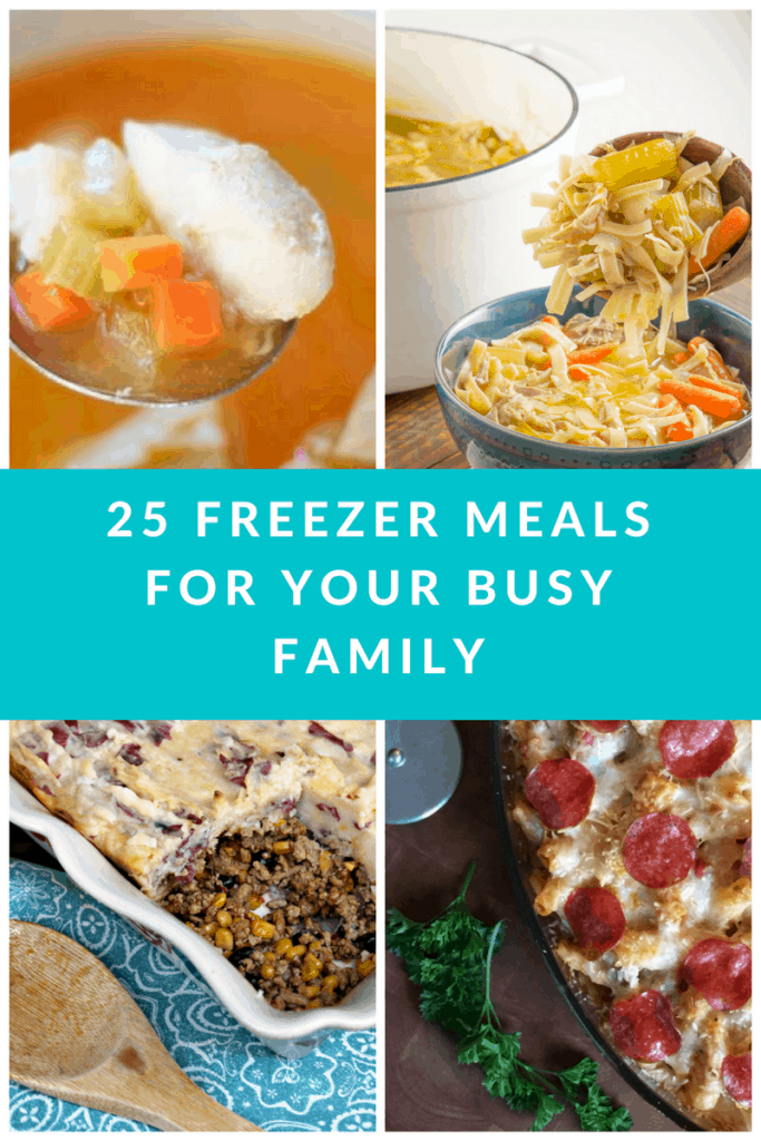25 Family Freezer Meals for Your Busy Family