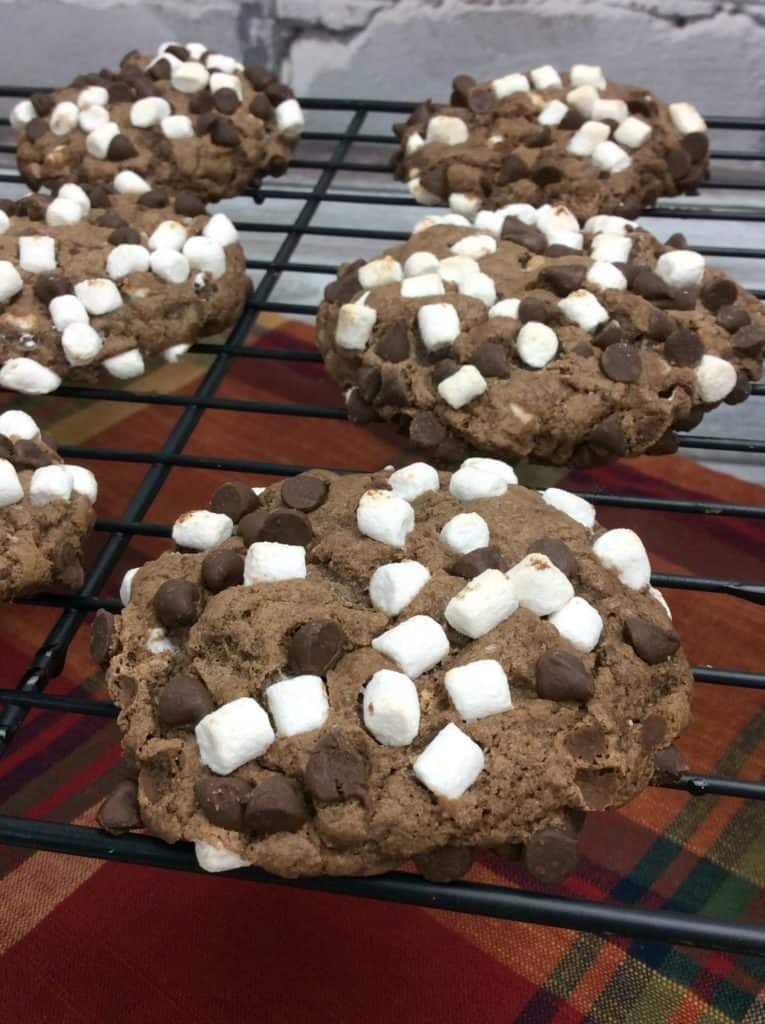 Sinful Coconut Marshmallow Gooey Cookie