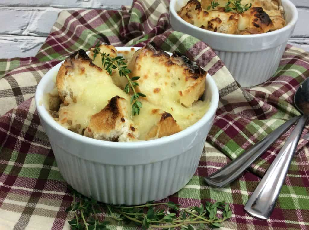 Hearty Guinness French Onion Soup