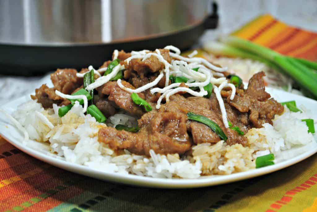 Succulent Instant Pot Mongolian Beef