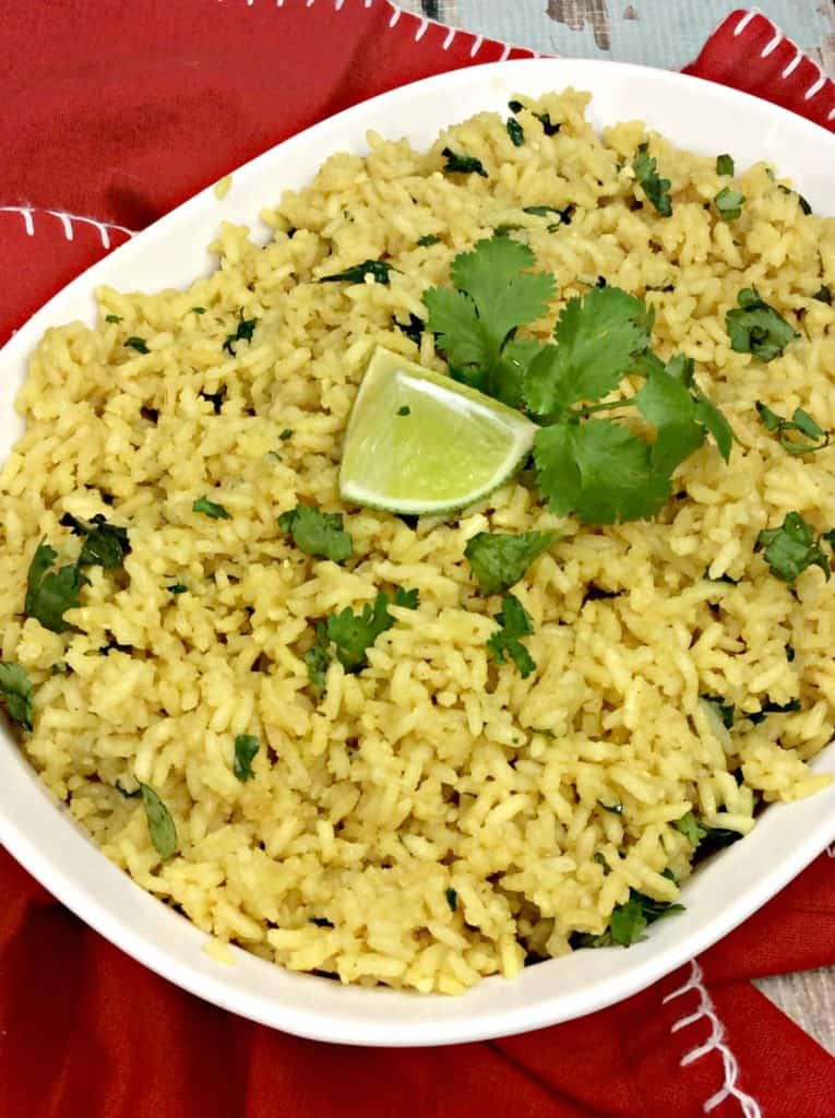 Our Traditional Cuban Yellow Rice