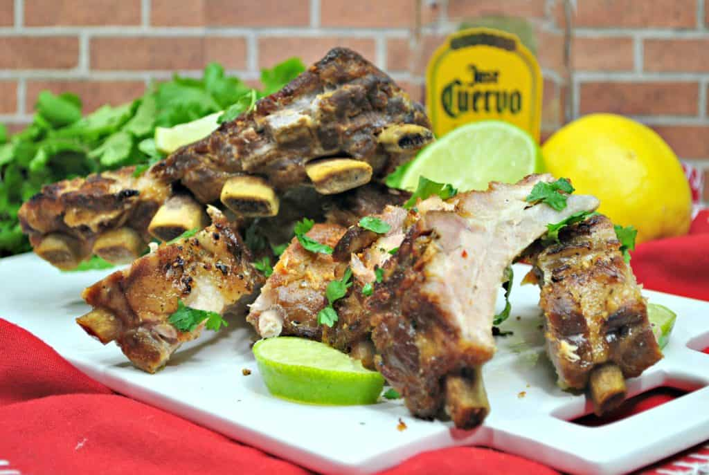 Margarita Baby Back Ribs in the Instant Pot – 6 Weight Watcher Smart Points