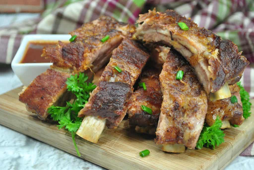 Dry Rub Ribs Made in the Instant Pot – 6 Weight Watcher Smart Points