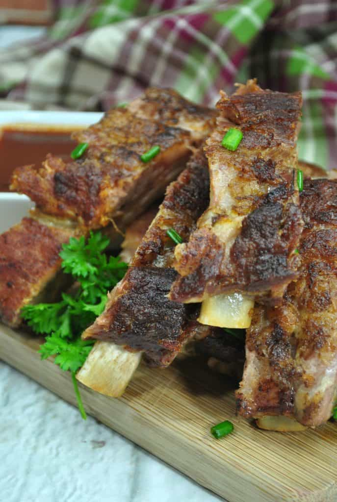 Dry Rub Ribs Made in the Instant Pot