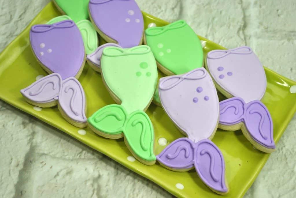 Whimsical MermaidTail Cookies