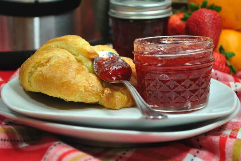 Instant Pot Strawberry Jam Recipe