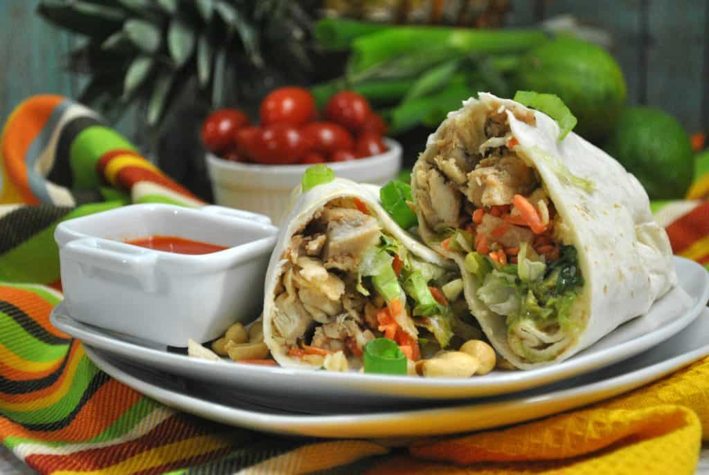 Our Thai Chicken Wrap Has Only 4 Weight Watcher Smart Points!