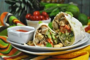 Our Thai Wrap Has Only 4 Weight Watcher Points!