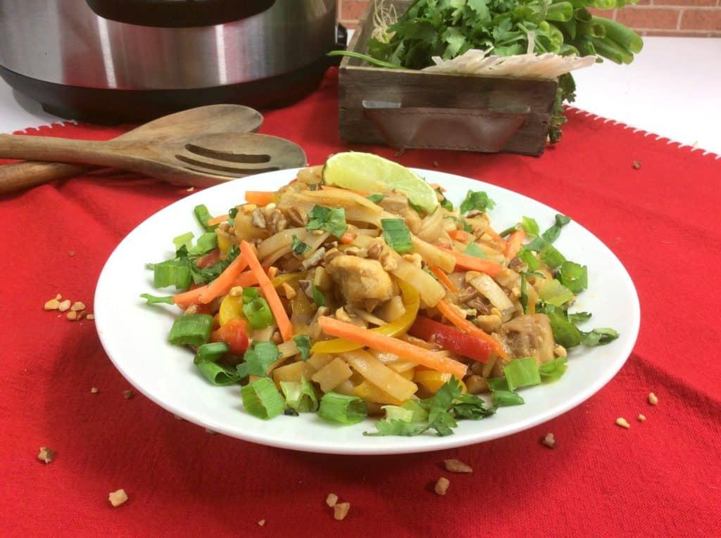 Our Instant Pot Chicken Pad Thai Recipe