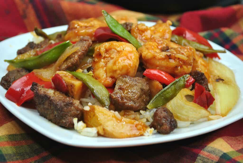 Zesty Instant Pot Red Pepper Shrimp Oriental