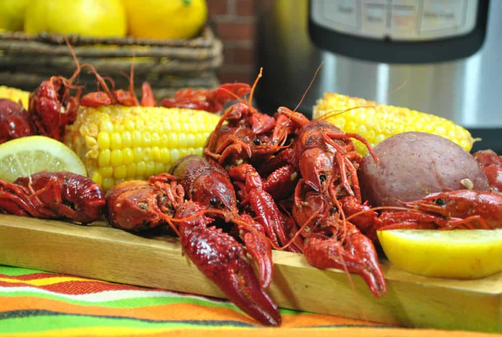 A Simple Crawfish Boil Using Your Instant Pot