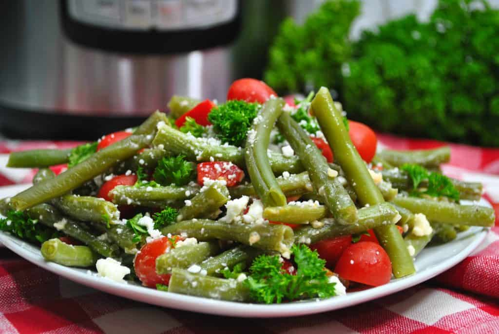 Switch it up with our Greek Green Beans