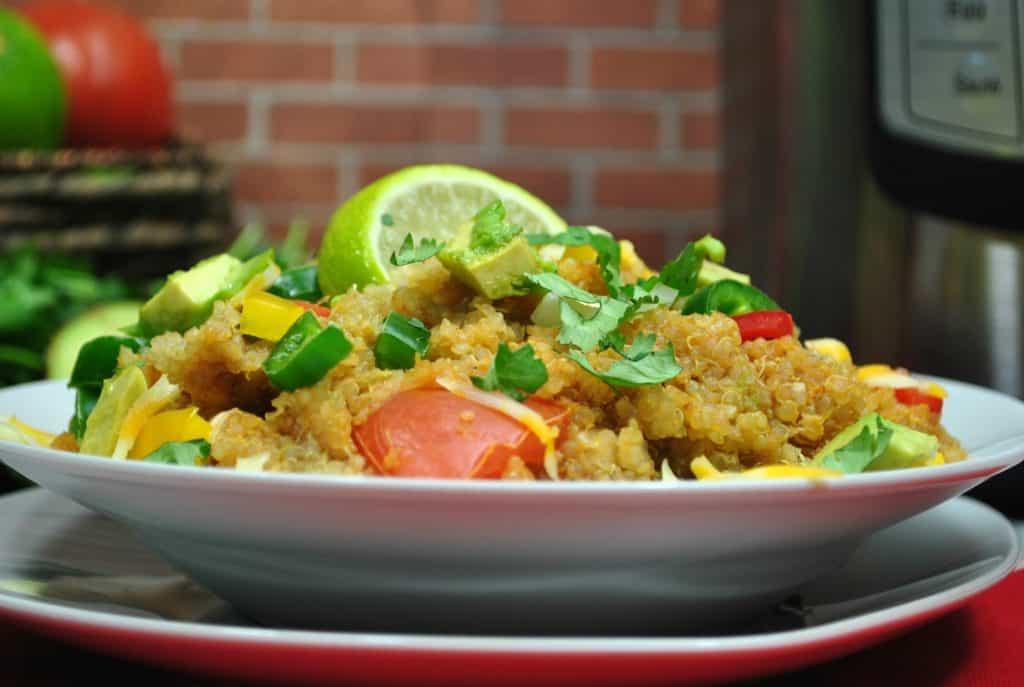 Instant Pot Enchilada Quinoa Casserole – Only 5 Weight Watcher Smart Points