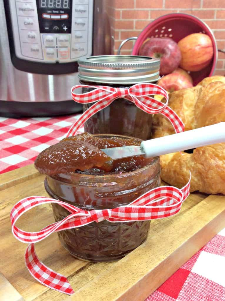 Beyond Easy Instant Pot Apple Butter