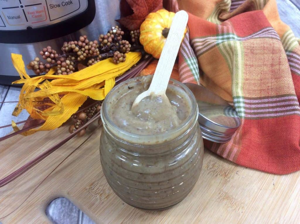 Instant Pot Spiced Honey Pecan Butter