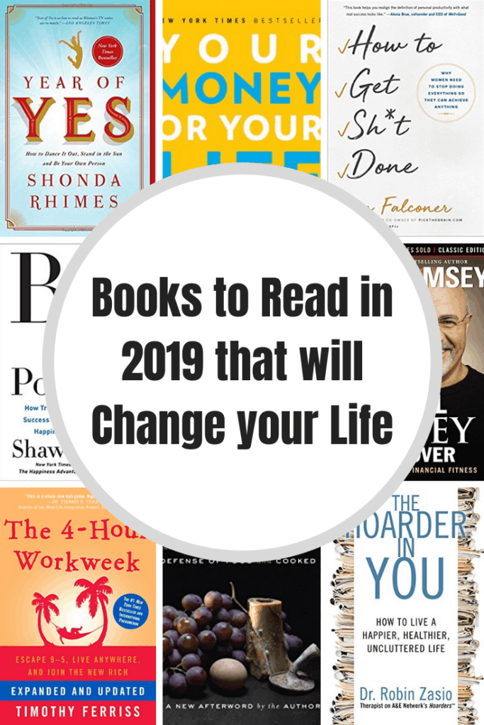 Books to Read in 2019 that will Change your Life
