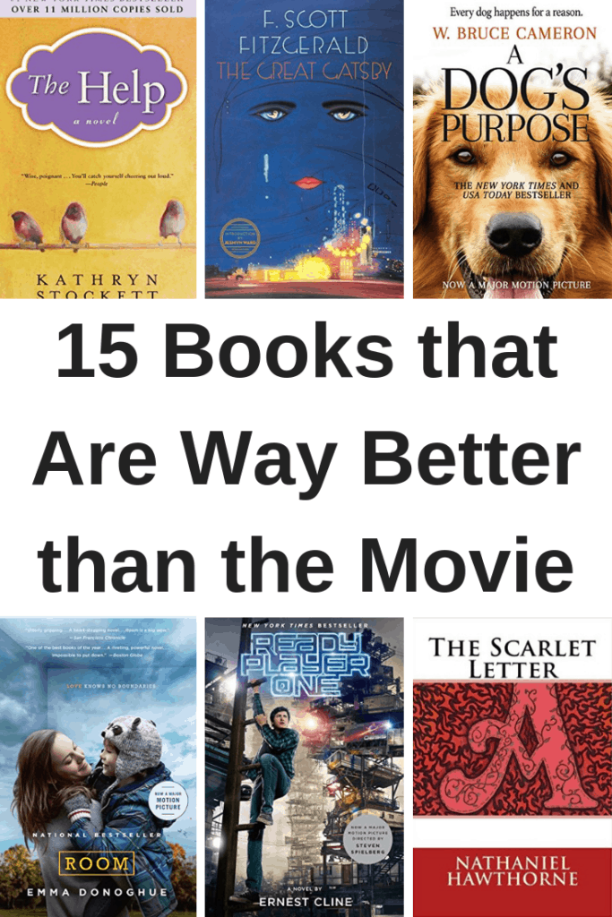 15 Books that Are Way Better than the Movie