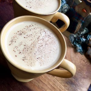 Homemade Non-Alcoholic Eggnog