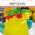 Incredible Tropical Pineapple Sandy Cocktail Recipe