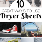 ways to use dryer sheets