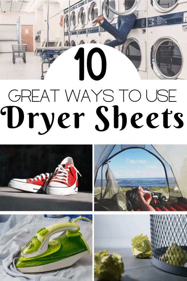 10 Great Ways to Use Dryer Sheets