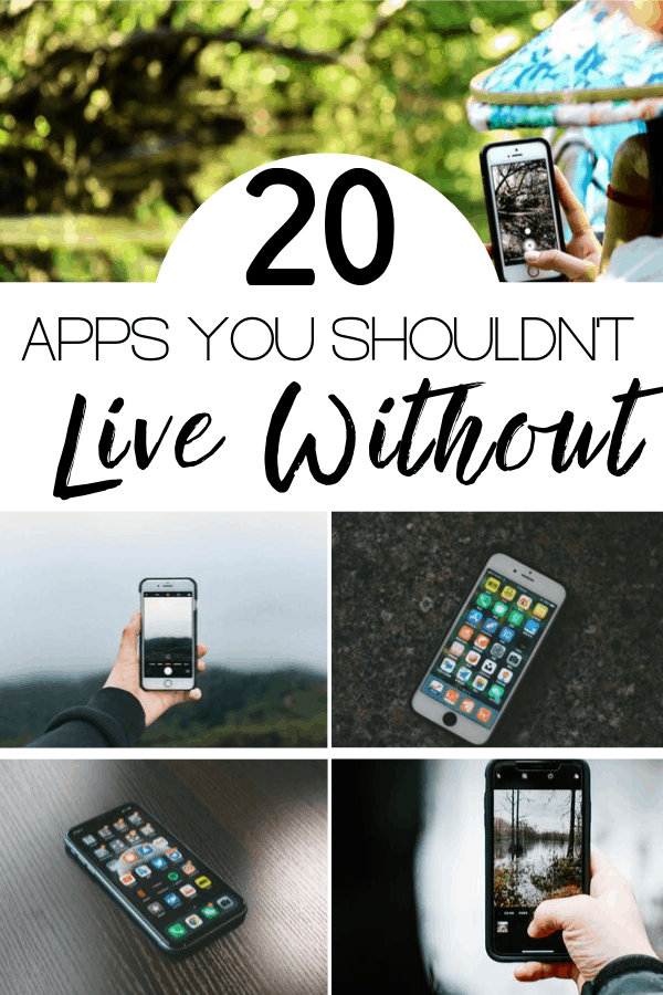 20 Apps You Shouldn't Live Without