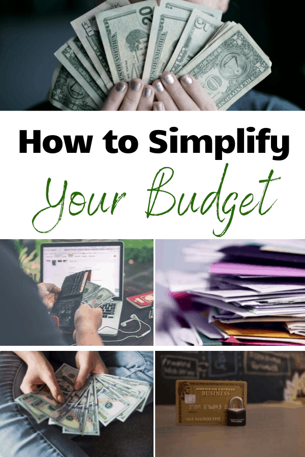 How to Simplify Your Budget