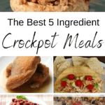 crock pot meals that have five ingredients or less