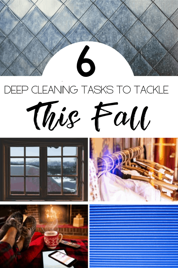 6 Deep Cleaning Tasks to do This Fall