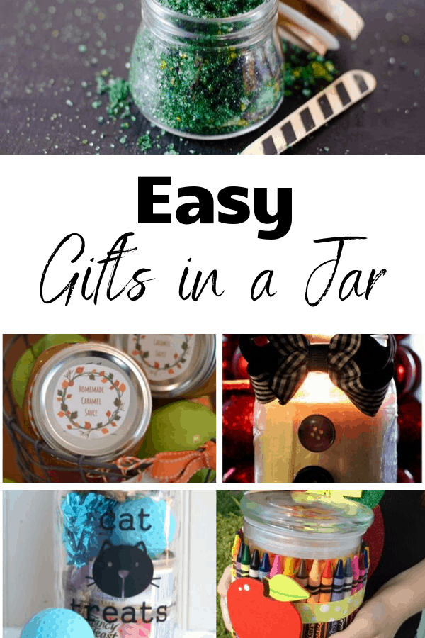 Easy to make gifts in a jar
