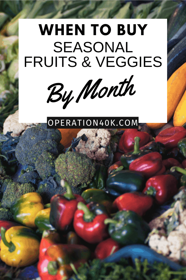 When to Buy Seasonal Fruits and Veggies by Month: A Guide