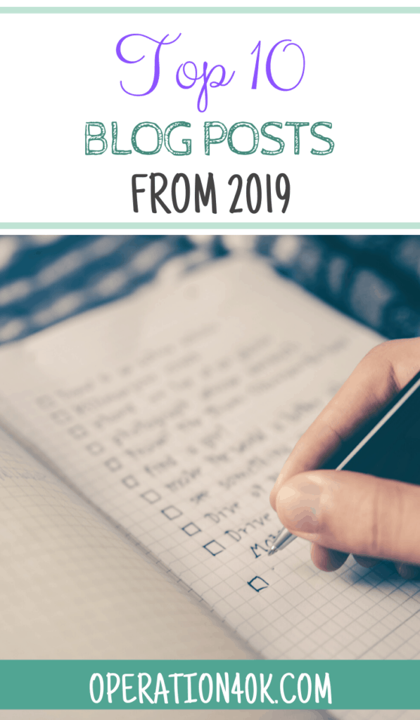 Top 10 Posts of Ours From 2019