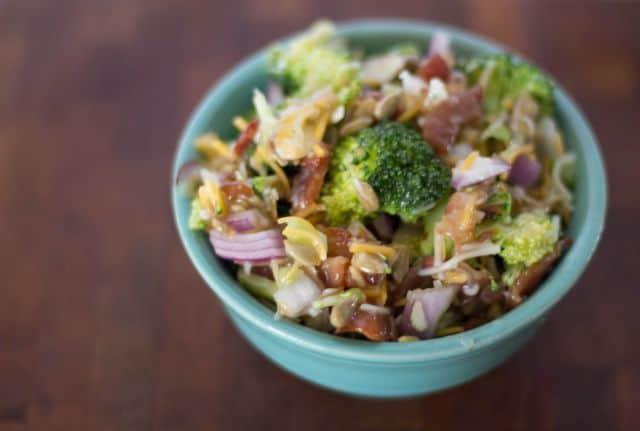 Broccoli Crunch Salad Screams Summer
